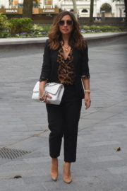 Myleene Klass Arrives at Global Radio in London 2020/06/12 6