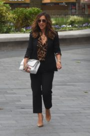 Myleene Klass Arrives at Global Radio in London 2020/06/12 7