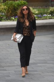 Myleene Klass Arrives at Global Radio in London 2020/06/12 8