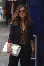 Myleene Klass Arrives at Global Radio in London 2020/06/12 10