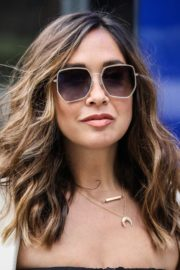 Myleene Klass seen in Stylish Outfit at Global Studios in London 2020/06/03 6