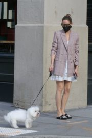 Olivia Palermo Out with Mr Butler on His 15th Birthday in Brooklyn 2020/06/12 4