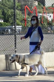Olivia Wilde Out with Her Dog in Los Angeles 2020/06/07 2
