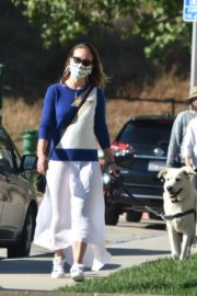 Olivia Wilde Out with Her Dog in Los Angeles 2020/06/07 5