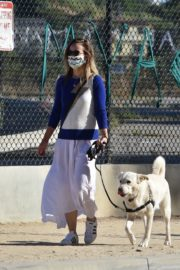 Olivia Wilde Out with Her Dog in Los Angeles 2020/06/07 9