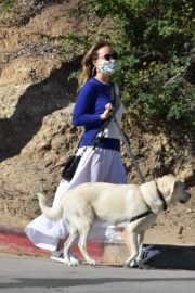 Olivia Wilde Out with Her Dog in Los Angeles 2020/06/07 12