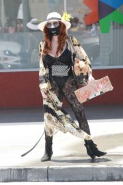 Phoebe Price at Black Lives Matter Protest in Los Angeles 2020/06/07 1