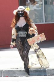 Phoebe Price at Black Lives Matter Protest in Los Angeles 2020/06/07 2