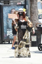 Phoebe Price at Black Lives Matter Protest in Los Angeles 2020/06/07 10