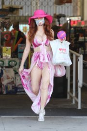 Phoebe Price Out and About in Studio City 2020/06/15 4