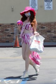 Phoebe Price Out and About in Studio City 2020/06/15 5