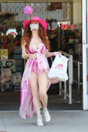 Phoebe Price Out and About in Studio City 2020/06/15 6