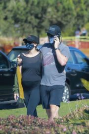 Pregnant Katherine Schwarzenegger and Chris Pratt Out in Santa Monica 2020/06/01 6