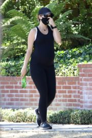 Pregnant Katherine Schwarzenegger Out Hiking in Pacific Palisades 2020/06/11 2