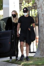 Pregnant Sophie Turner and Joe Jonas Out in Los Angeles 2020/06/20 2