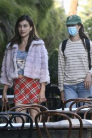 Rainey and Margaret Qualley and Madelaine Petsch Out for Dinner in West Hollywood 2020/06/13 4