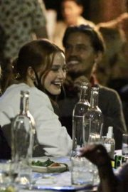 Rainey and Margaret Qualley and Madelaine Petsch Out for Dinner in West Hollywood 2020/06/13 5