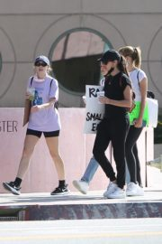 Sara Sampaio and Juliana Herz at a Protest in Los Angeles 2020/06/06 8