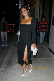 Sara Sampaio Leaves Catch LA in West Hollywood 2020/06/13 3