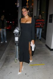 Sara Sampaio Leaves Catch LA in West Hollywood 2020/06/13 11