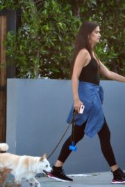 Sara Sampaio Out with Her Dog Kyta in Los Angeles 2020/06/07 1