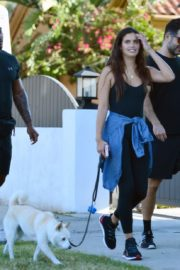 Sara Sampaio Out with Her Dog Kyta in Los Angeles 2020/06/07 4