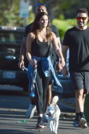 Sara Sampaio Out with Her Dog Kyta in Los Angeles 2020/06/07 9