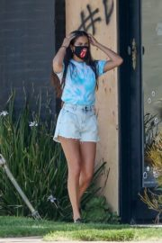 Sara Sampaio Out with Her Dogs in Los Angeles 2020/06/04 3