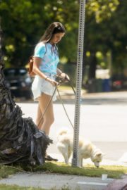 Sara Sampaio Out with Her Dogs in Los Angeles 2020/06/04 7