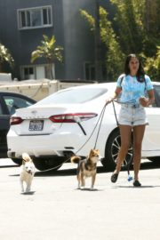 Sara Sampaio Out with Her Dogs in Los Angeles 2020/06/04 8