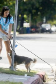 Sara Sampaio Out with Her Dogs in Los Angeles 2020/06/04 9