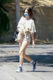 Scout Willis at Coffee Bean & Tee in Los Feliz 2020/06/12 14