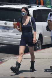 Scout Willis Out for Coffee in Hollywood 2020/06/14 3