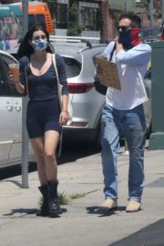 Scout Willis Out for Coffee in Hollywood 2020/06/14 6