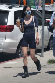 Scout Willis Out for Coffee in Hollywood 2020/06/14 8