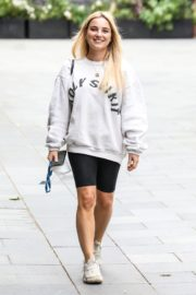 Sian Welby After Leaves Global Radio in London 2020/06/04 1