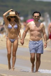 Sylvie Meis in Bikini at a Beach 2020/06/21 1