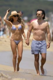 Sylvie Meis in Bikini at a Beach 2020/06/21 2
