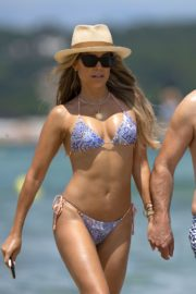 Sylvie Meis in Bikini at a Beach 2020/06/21 5