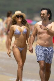 Sylvie Meis in Bikini at a Beach 2020/06/21 7