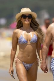 Sylvie Meis in Bikini at a Beach 2020/06/21 11