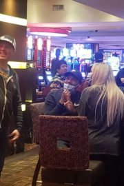Tao Wickrath Playing Roulette at Golden Nugget Hotel in Las Vegas 2020/06/03 1