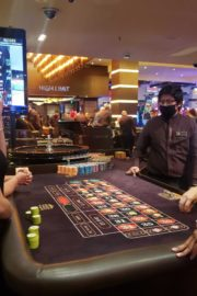 Tao Wickrath Playing Roulette at Golden Nugget Hotel in Las Vegas 2020/06/03 3