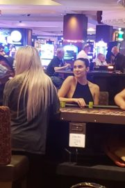 Tao Wickrath Playing Roulette at Golden Nugget Hotel in Las Vegas 2020/06/03 4