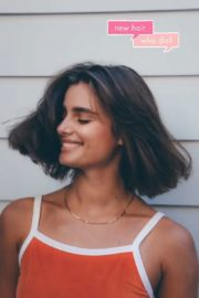 Taylor Hill Cut Her Hair Photos Shared in Instagram 2020/06/20 6