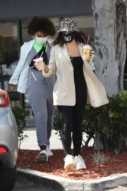 Vanessa Hudgens Out for Coffee in Los Angeles 2020/06/06 10