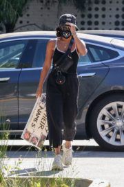 Vanessa Hudgens Out Protesting in Los Angeles 2020/06/07 5