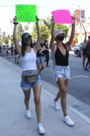Victoria Justice and Madison Reed Join a Black Lives Matter Protest in Los Angeles 2020/06/03 8