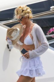 Victoria Silvstedt in Bikini at a Yacht in Saint Tropez 2020/06/01 3