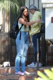 Addison Rae Leaves After a Friend's House in Los Angeles 2020/09/18 1